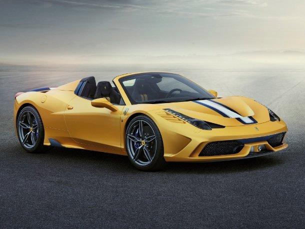 Platz 1: Ferrari 458 Speciale A