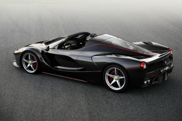 Platz 1: Ferrari LaFerrari Aperta