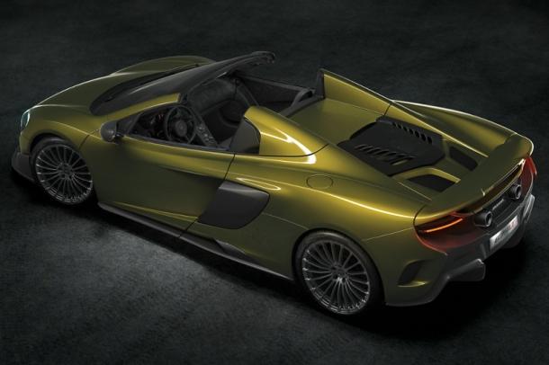 Platz 10: McLaren 675LT Spider