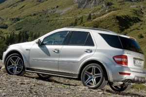 Mercedes AMG ML63 '10th Anniversary' und ML63 'Performance Studie'