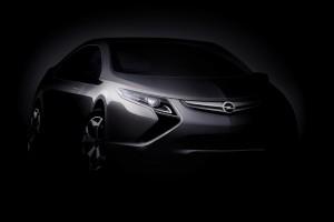 Opel präsentiert Elektroauto Ampera