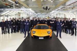 Produktionsjubiläum für den Lamborghini Murciélago