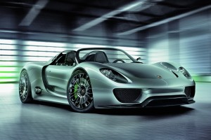 Porsche 918 Spyder – Intelligente Performance