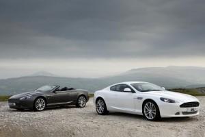 Aston Martin DB9 – Gestraffte Linien für's neue Modelljahr