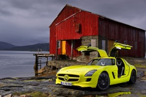 Mercedes-Benz SLS AMG E-Cell – Ein sauberer Supersportler