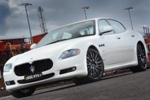 Maserati Quattroporte Sport GT S MC Sport Line – Weißer Riese