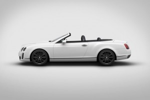 Bentley Continental Supersports Convertible ISR – Eisig schnell