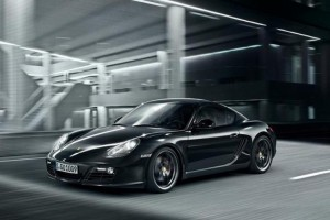 Porsche Cayman S Black Edition – 500 schwarze Krokodile