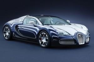 Bugatti Veyron Grand Sport L'or Blanc – Aus feinstem Porzellan