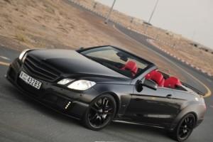 Brabus E V12 Cabrio – Zu viert schnell mal den Sommer genießen
