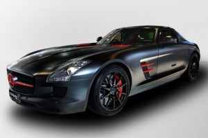Mercedes-Benz SLS AMG Matt Black Edition – Nur in Japan