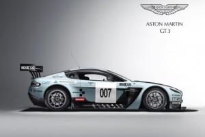 Aston Martin beim 24-Stunden-Rennen am Nürburgring 2012