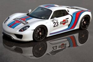 Porsche 918 Spyder Prototyp – Legendäre Partnerschaft