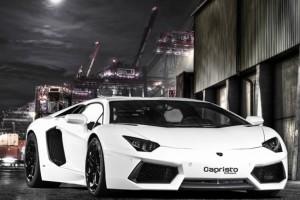 Lamborghini Aventador LP 700 von Capristo Exhaust Systems