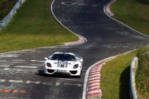 Porsche 918 Spyder Prototyp – Erste Nordschleifenrunden