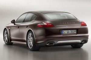 Porsche Panamera Platinum Edition – Edelmetall