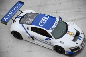 Audi R8 LMS ultra – Real Madrid zu Ehren
