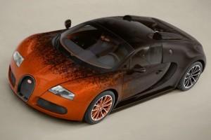Bugatti Veyron Grand Sport Venet – Kunst am Rad