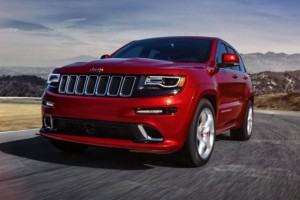 Jeep Grand Cherokee SRT8 – Wildere Optik