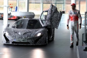 McLaren P1 Prototyp – Gastauftritt im Tarnkleid