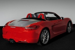 Porsche Boxster S Red 7 – Personally built for 7
