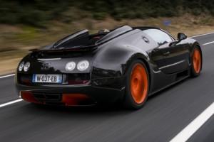 Bugatti Veyron Grand Sport Vitesse WRC – Rekord