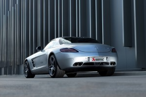 Muscle Car Sound für den Mercedes-Benz SLS AMG