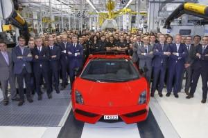Lamborghini Gallardo – 14.022 und Schluss