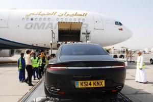 Aston Martin Lagonda – Hitzetest im Oman