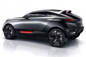 Peugeot Quartz Concept – Power-SUV