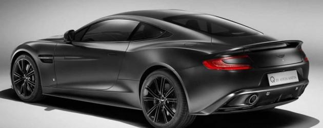 Aston Martin Vanquish by Q – Das matte Schwarze