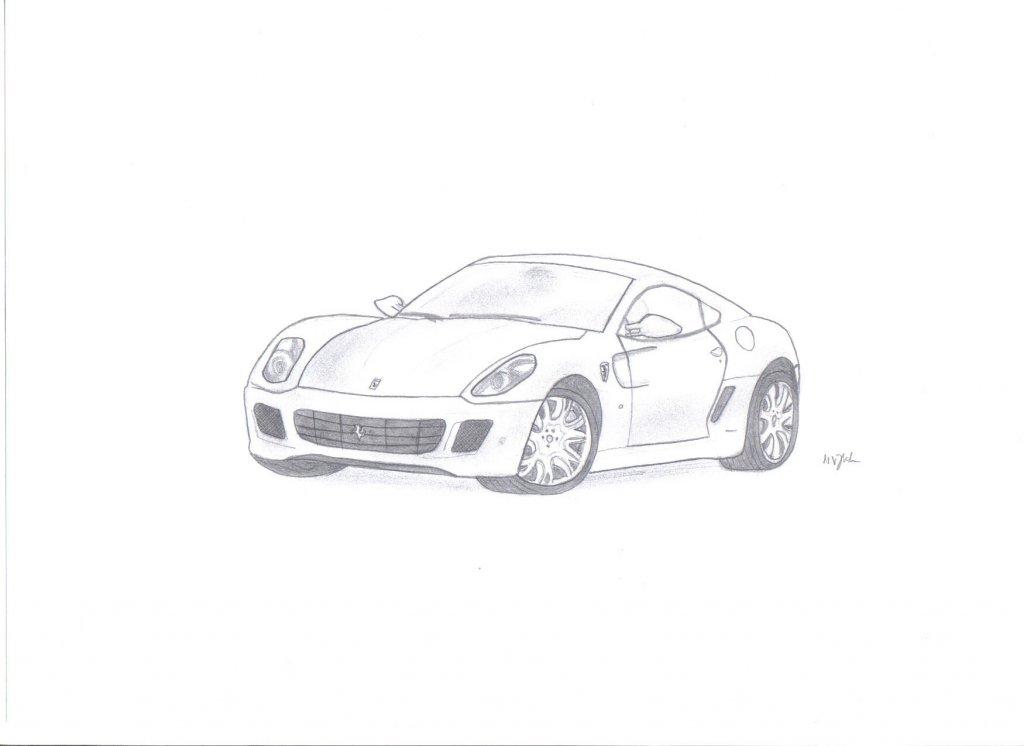 599 Zeichnung