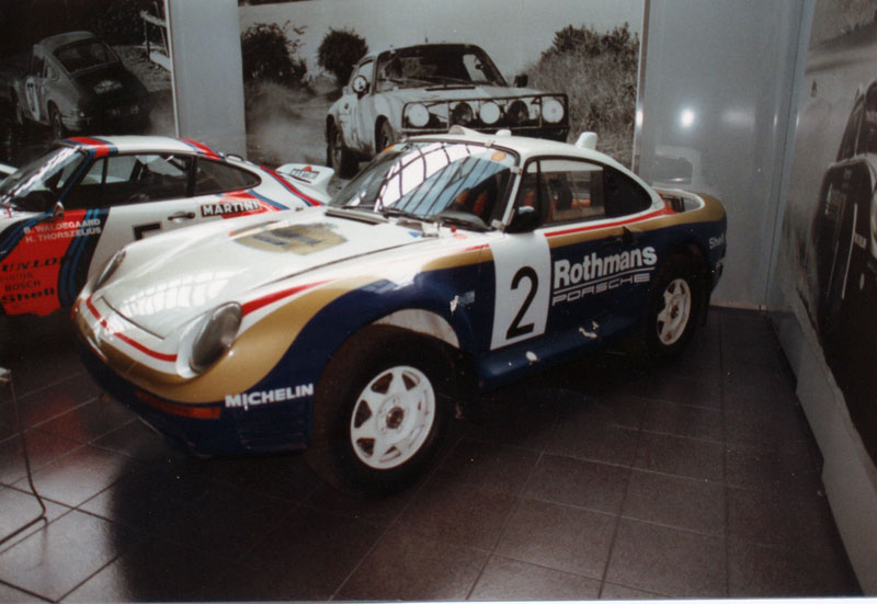 Porsche 959 Rallye