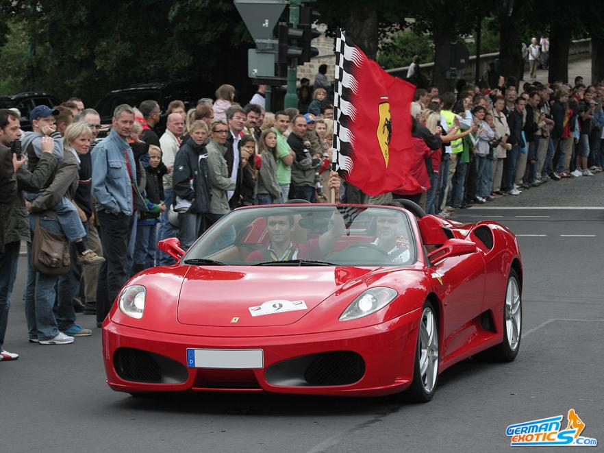 Ferrari F430 Spider (mehr davon auf www.scuderia-sued.de)
