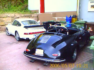 Speedster Replika und 911turbo