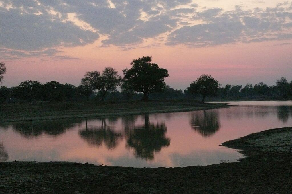 Lagune bei Sonnenuntergang - Nsefu Sektor - South Luangwa - Zambia