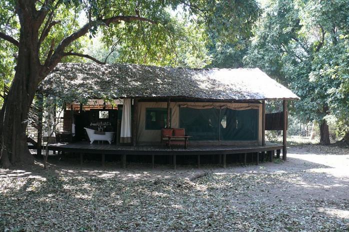 Superior Tent - Chiawa Camp - Lower Zambezi - Zambia