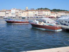Riva-Boote - immer wieder ein Genuss.