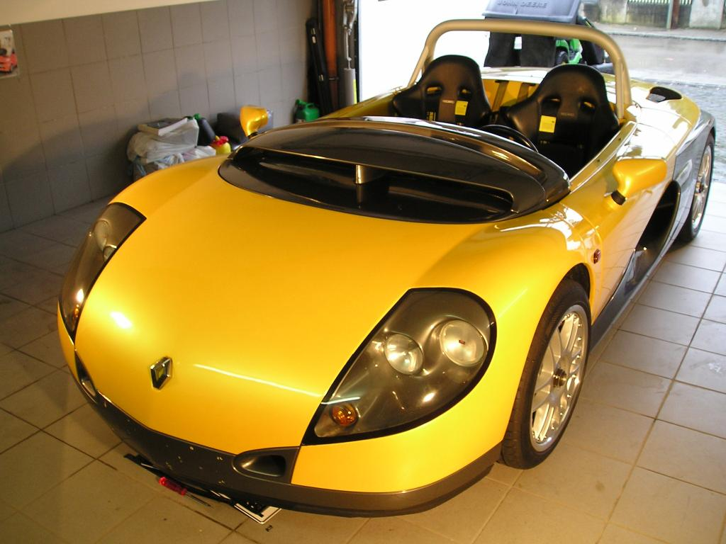 Renault Spider Zymöl Titanium