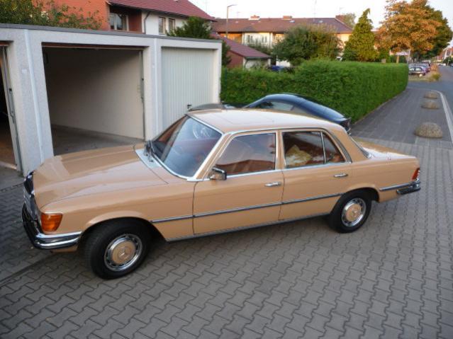 MB 280 SE Bj 1971 W 116 Zymöl Titanium