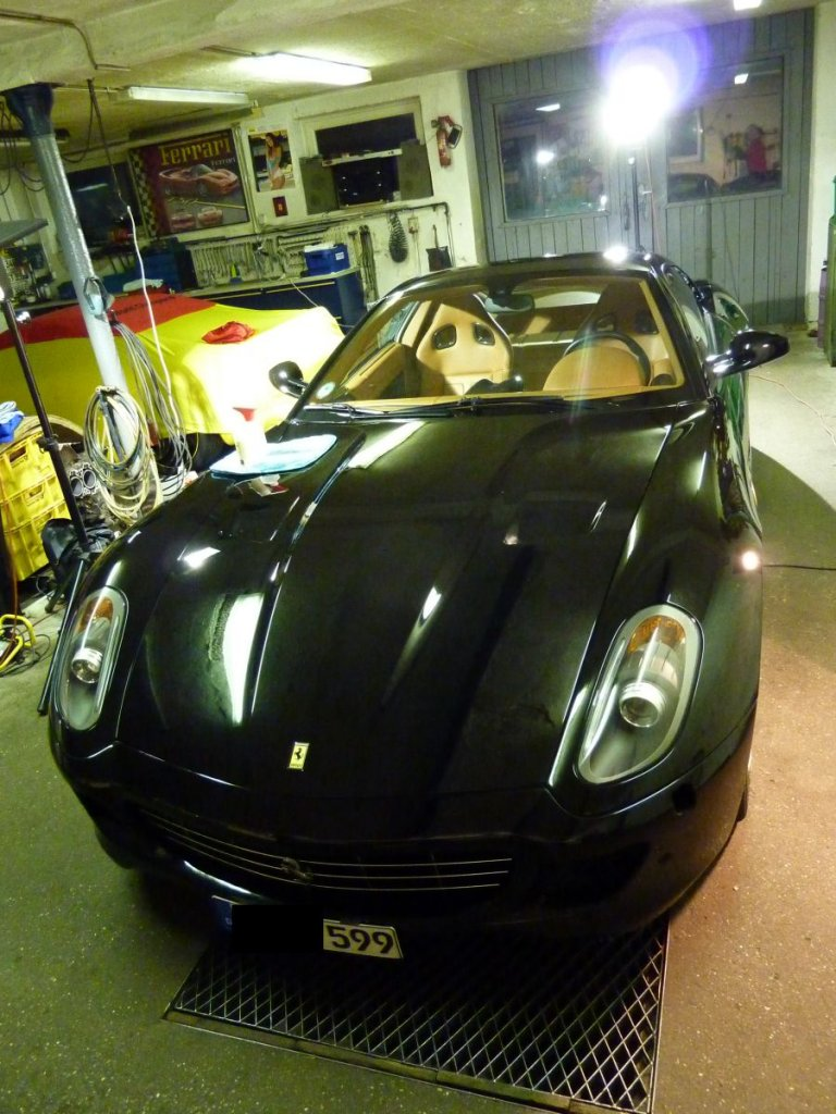 Ferrari 599 Novitec  3 Lagen ZAINO Z5  ZFX