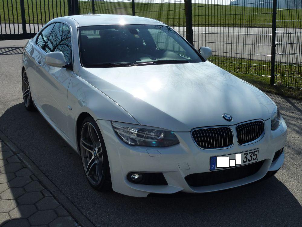 BMW 335d Metallic weiss
