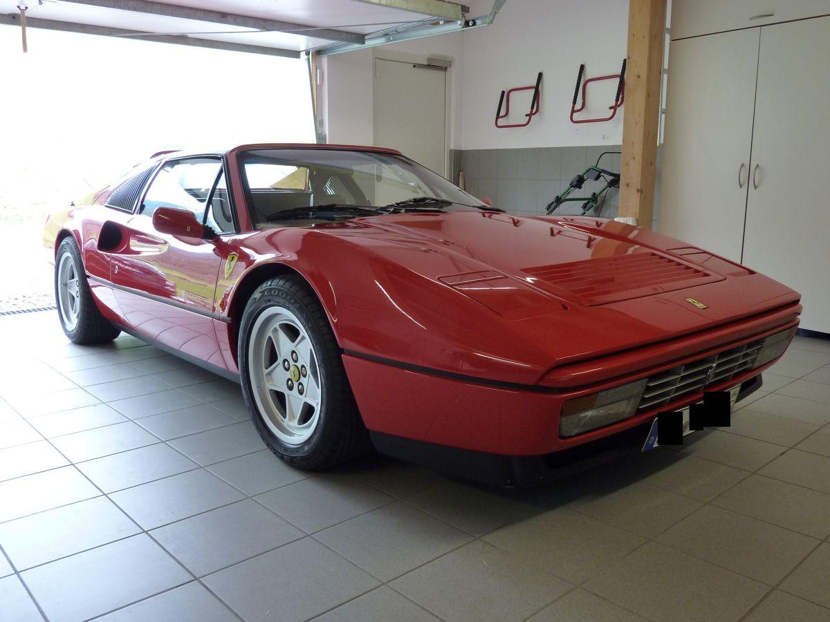 Ferrari 328 GTS Bj. 1987    106.000km Swizöl Shield