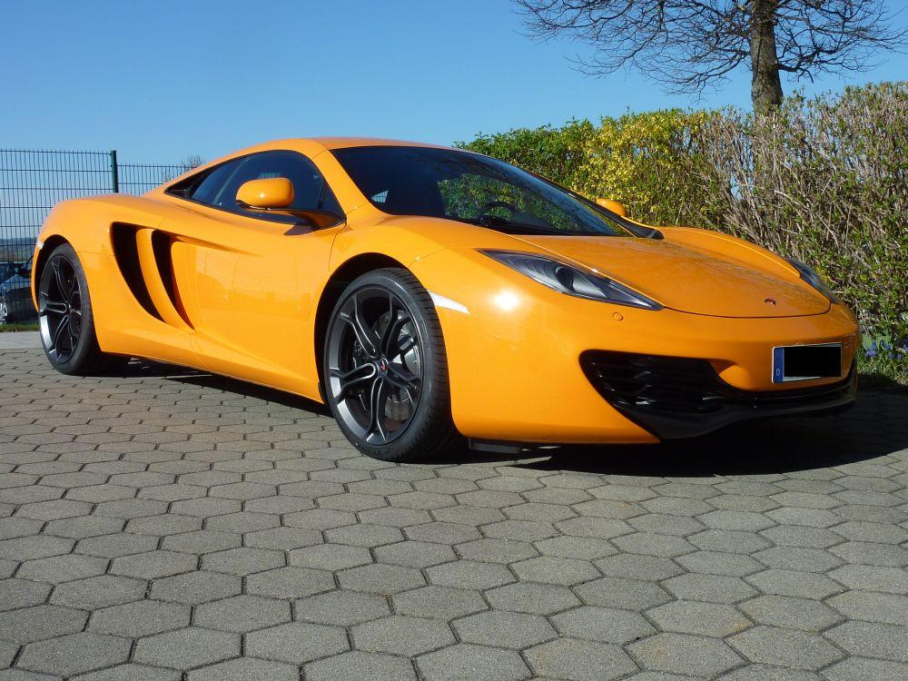 McLaren MP4 12C Lack: Zaino Z2 in 3 Lagen Glas: Nanolex Glasversiegelung Premium