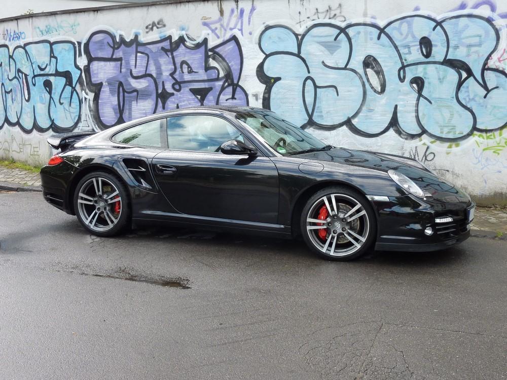 Porsche Turbo schwarz met. Baujahr 11 / 2011 40.000km Zaino AIO plus 2 Lagen Z5