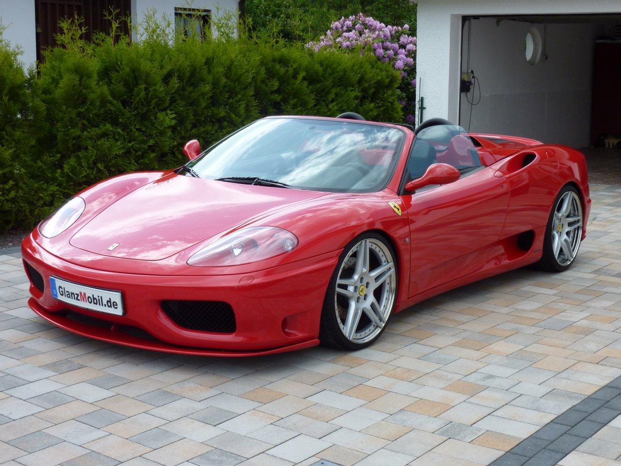 Ferrari 360 Spider Zaino Z2 in 3 Lagen.