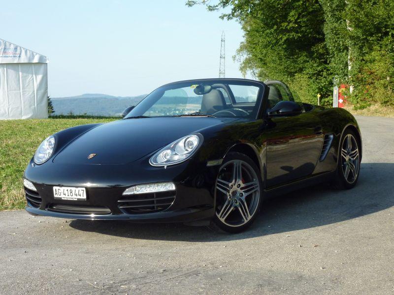 Porsche Boxster 987 S   Uni-schwarz Baujahr 2009 100.000km
