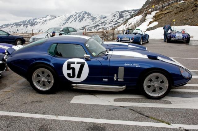 Sehr schönes Cobra Daytona Coupe,  Daytona Coupes haben 1965 - 1968 acht von zehn Langstreckentiteln  eingeheimst und wurden dann von den moderneren Ford GT40 abgelöst!