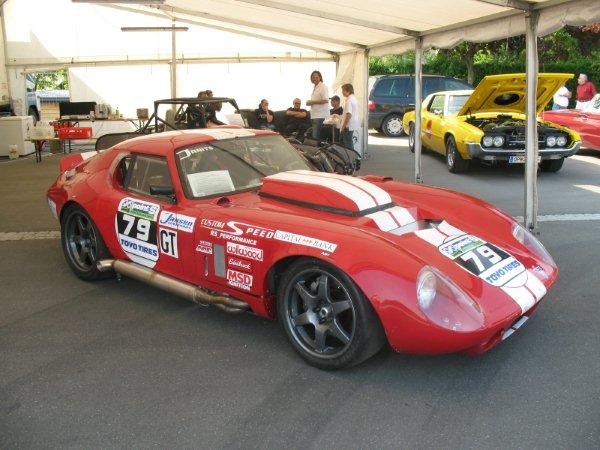 Cobra Daytona Coupe - Nascar Race Edition mit 800 PS