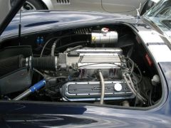 Chevy LT1 350 CUI TPI Edelbrock